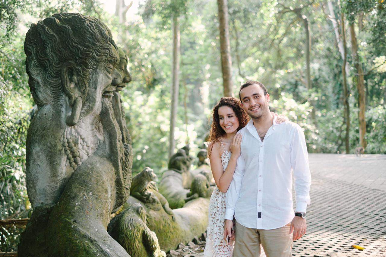 Nazli & Orhan: Honeymoon Photography in Ubud Bali 38
