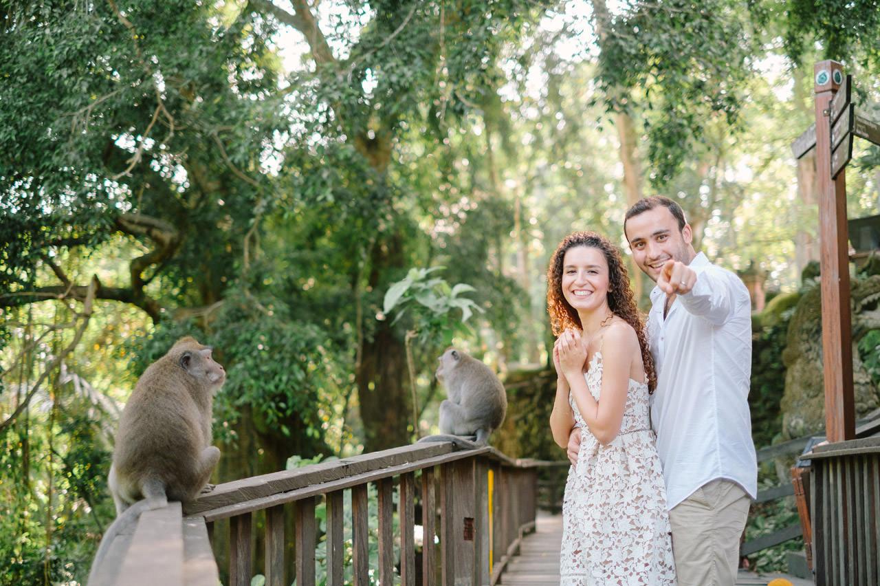 Nazli & Orhan: Honeymoon Photography in Ubud Bali 42