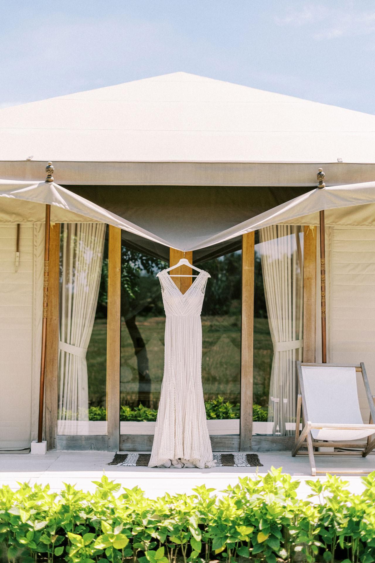 Bali Beach Glamping Wedding on a Luxury Tent 1