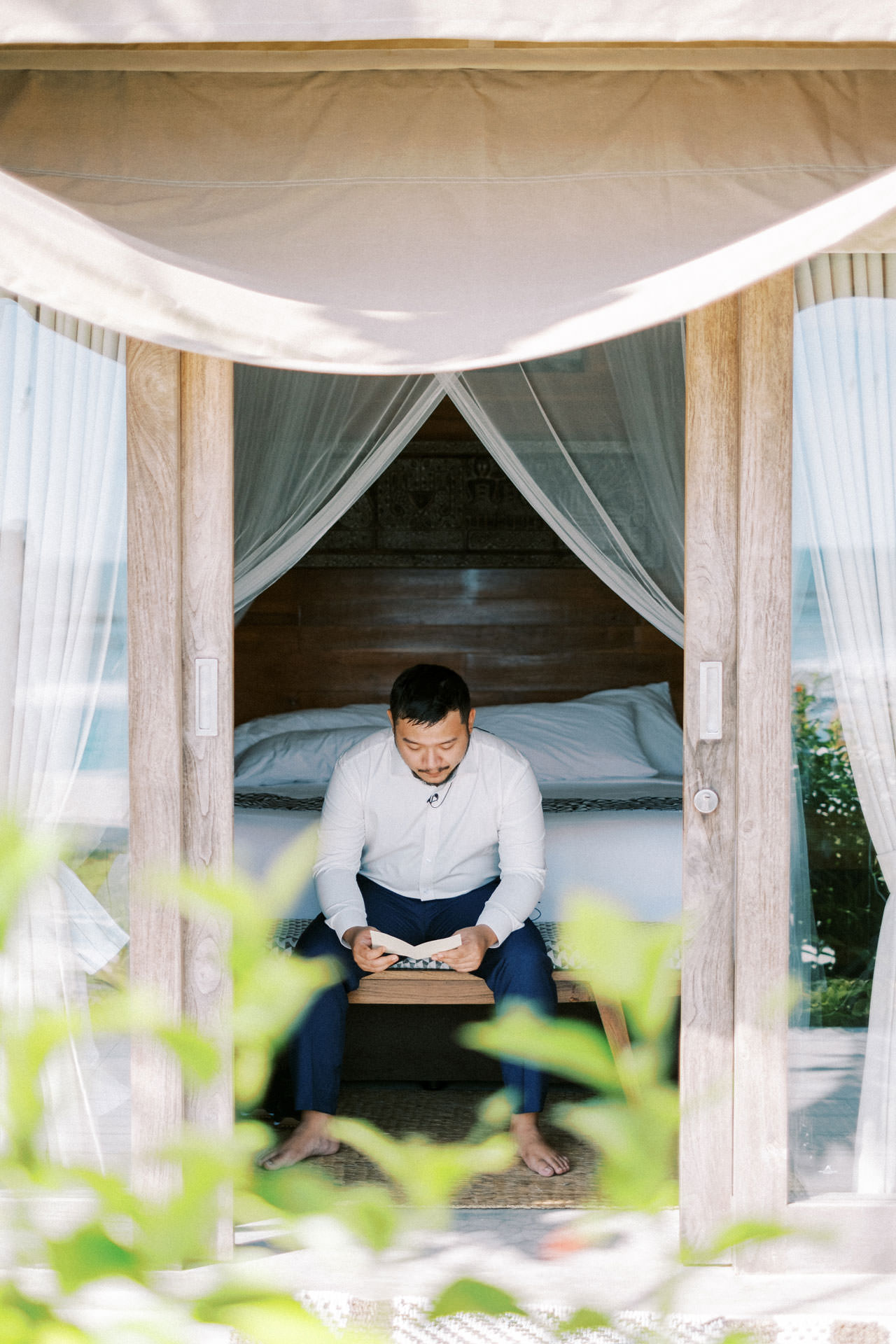 Bali Beach Glamping Wedding on a Luxury Tent 8