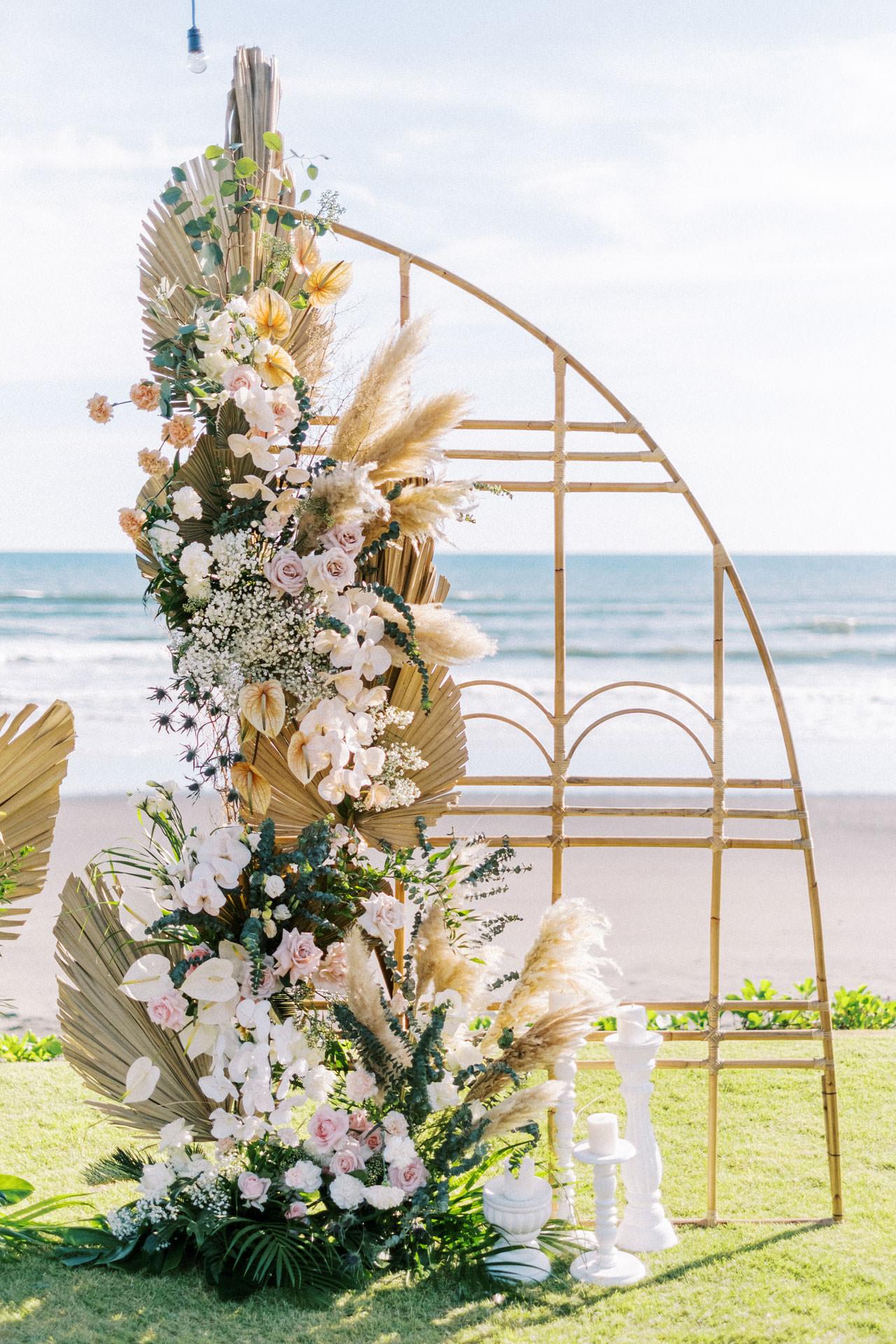 Bali Beach Glamping Wedding on a Luxury Tent 13