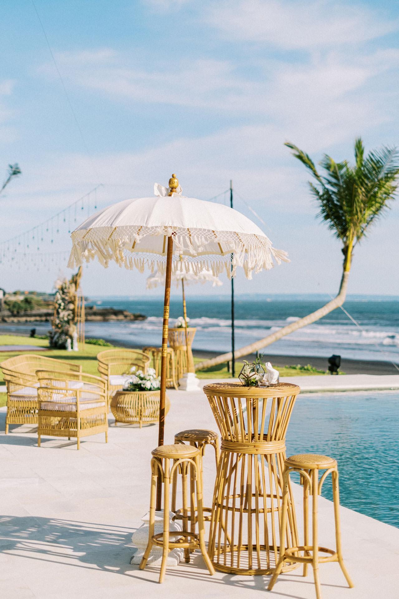Bali Beach Glamping Wedding on a Luxury Tent 18