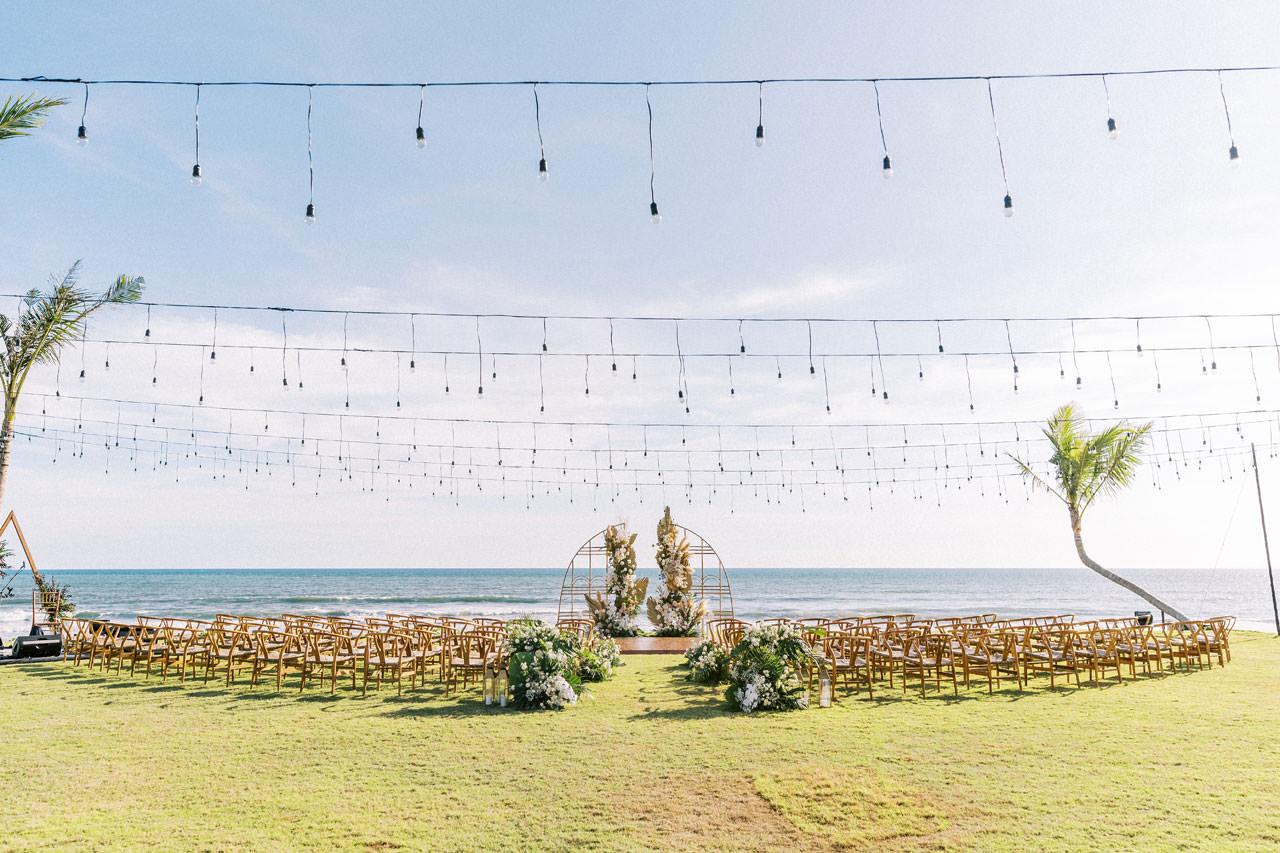 Bali Beach Glamping Wedding on a Luxury Tent 19