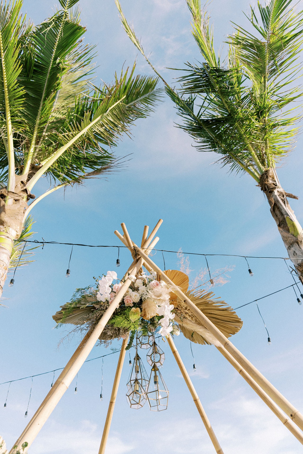 Bali Beach Glamping Wedding on a Luxury Tent 23