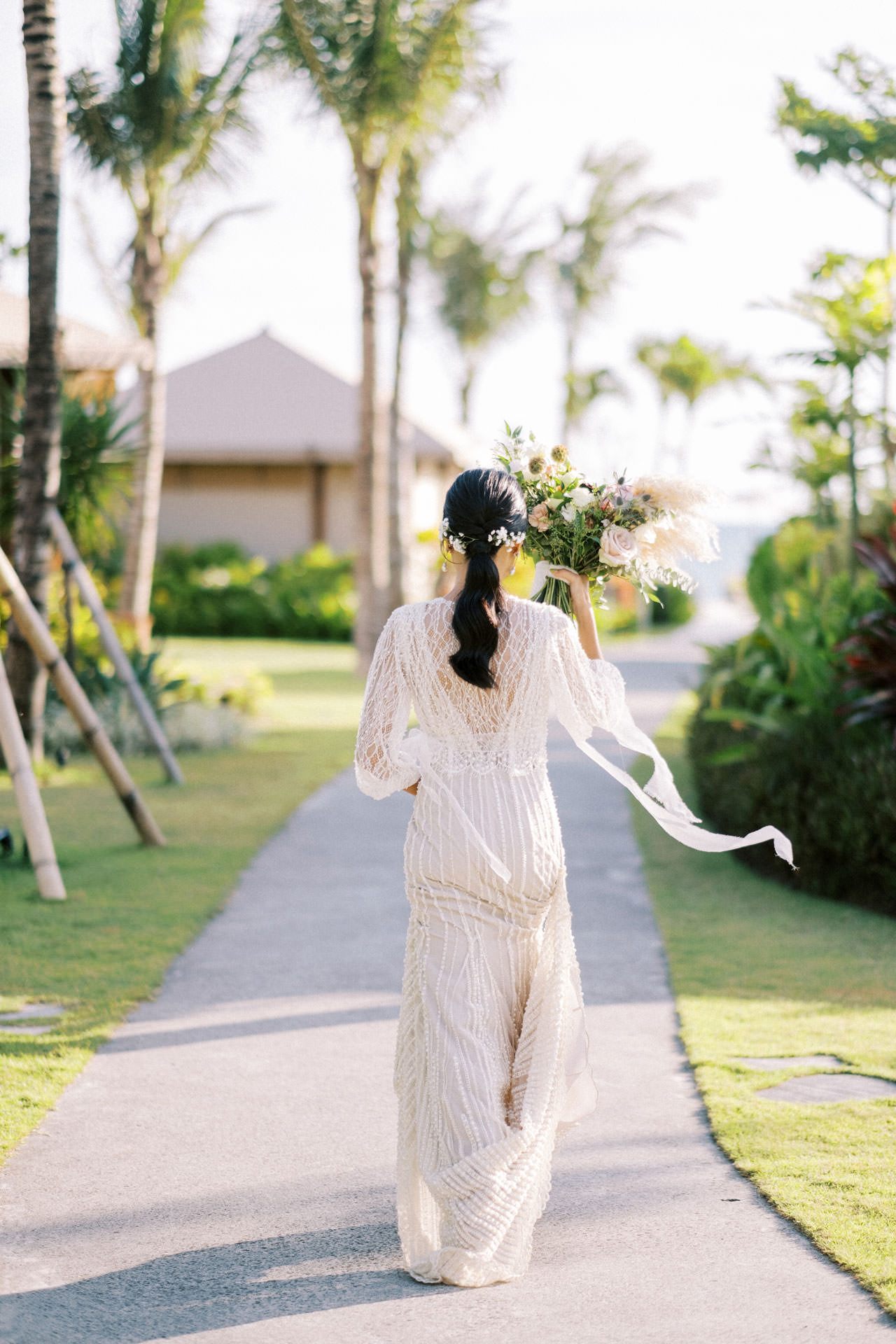 Bali Beach Glamping Wedding on a Luxury Tent 26
