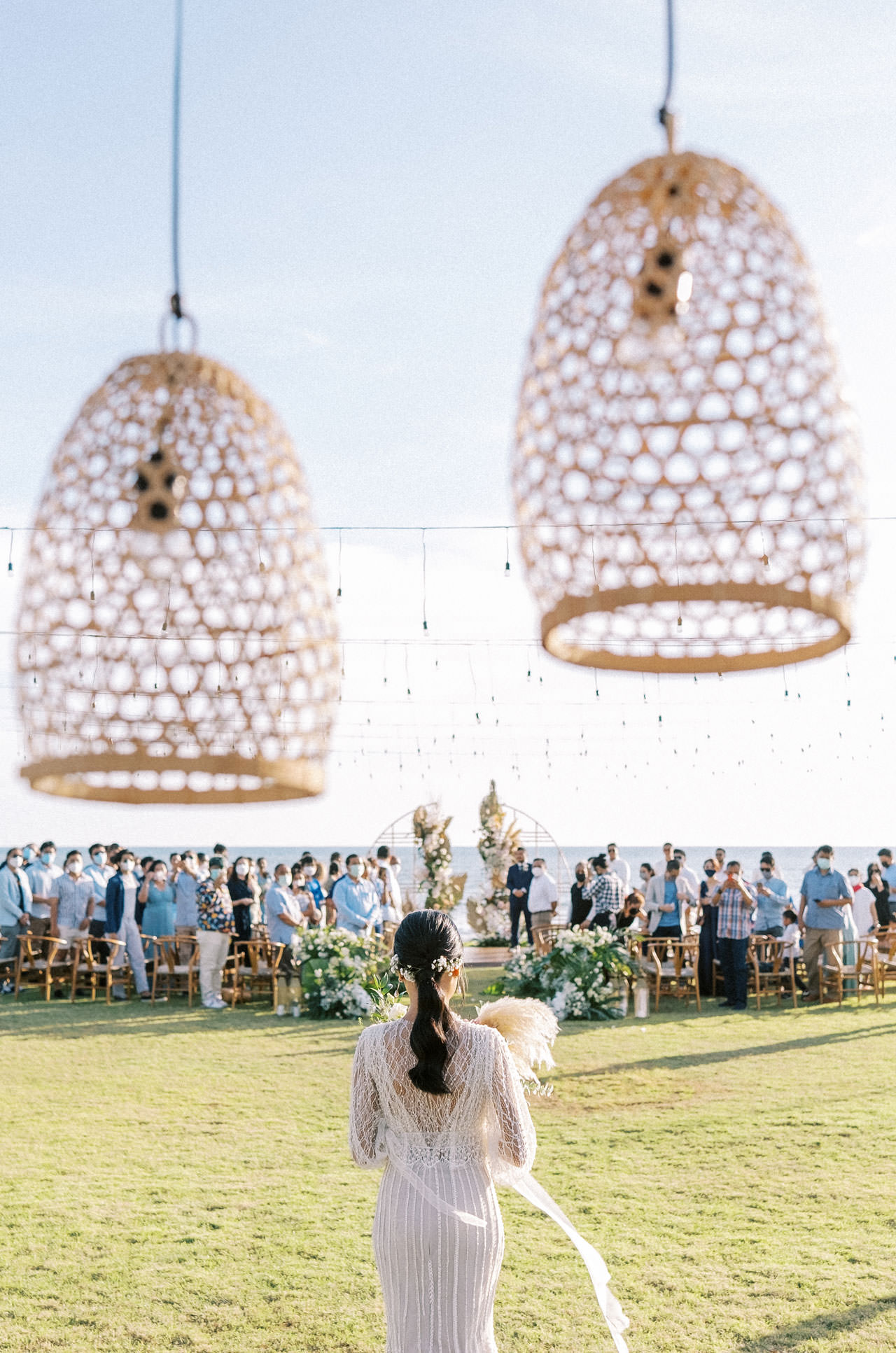 Bali Beach Glamping Wedding on a Luxury Tent 27