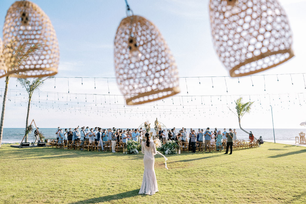 Bali Beach Glamping Wedding on a Luxury Tent 28