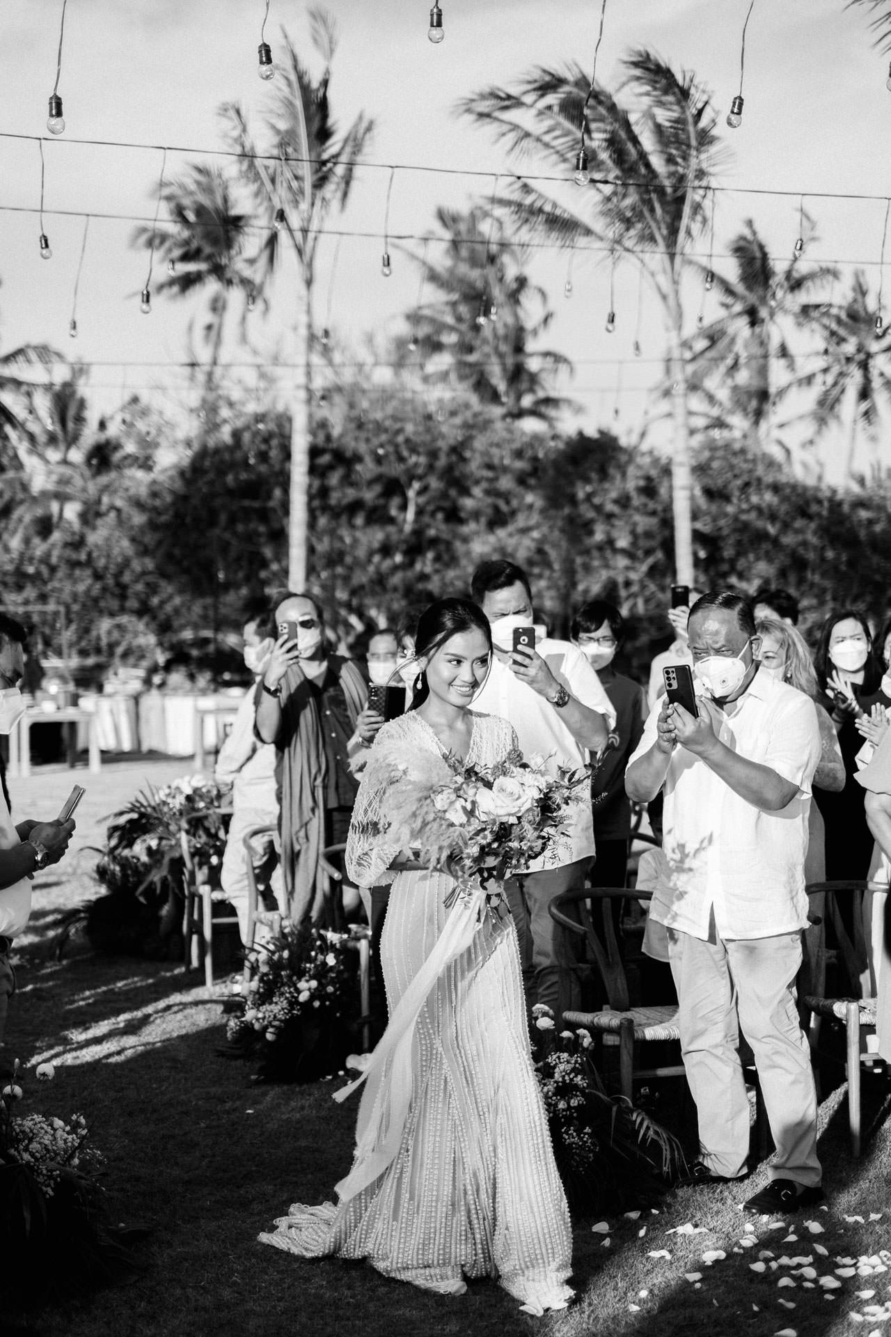 Bali Beach Glamping Wedding on a Luxury Tent 29