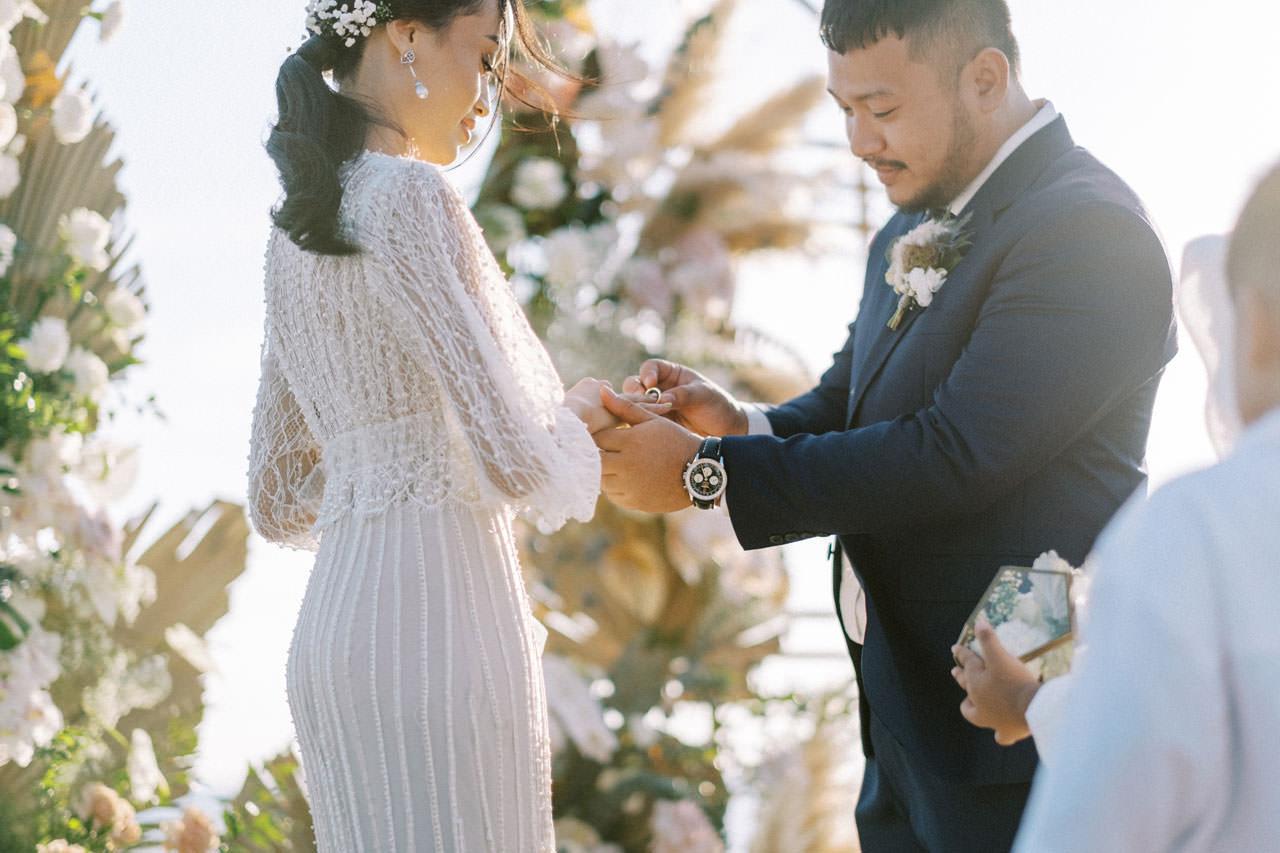 Bali Beach Glamping Wedding on a Luxury Tent 31