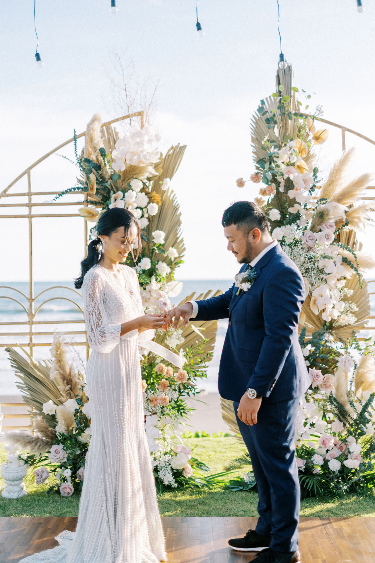 Bali Beach Glamping Wedding on a Luxury Tent 32