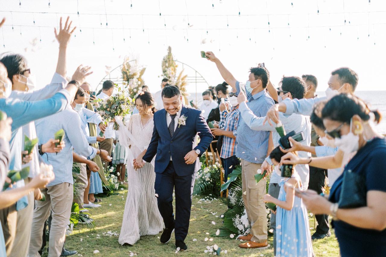 Bali Beach Glamping Wedding on a Luxury Tent 34