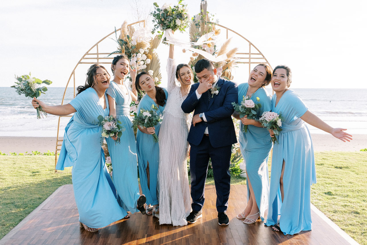 Bali Beach Glamping Wedding on a Luxury Tent 35