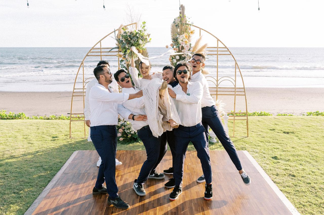 Bali Beach Glamping Wedding on a Luxury Tent 36