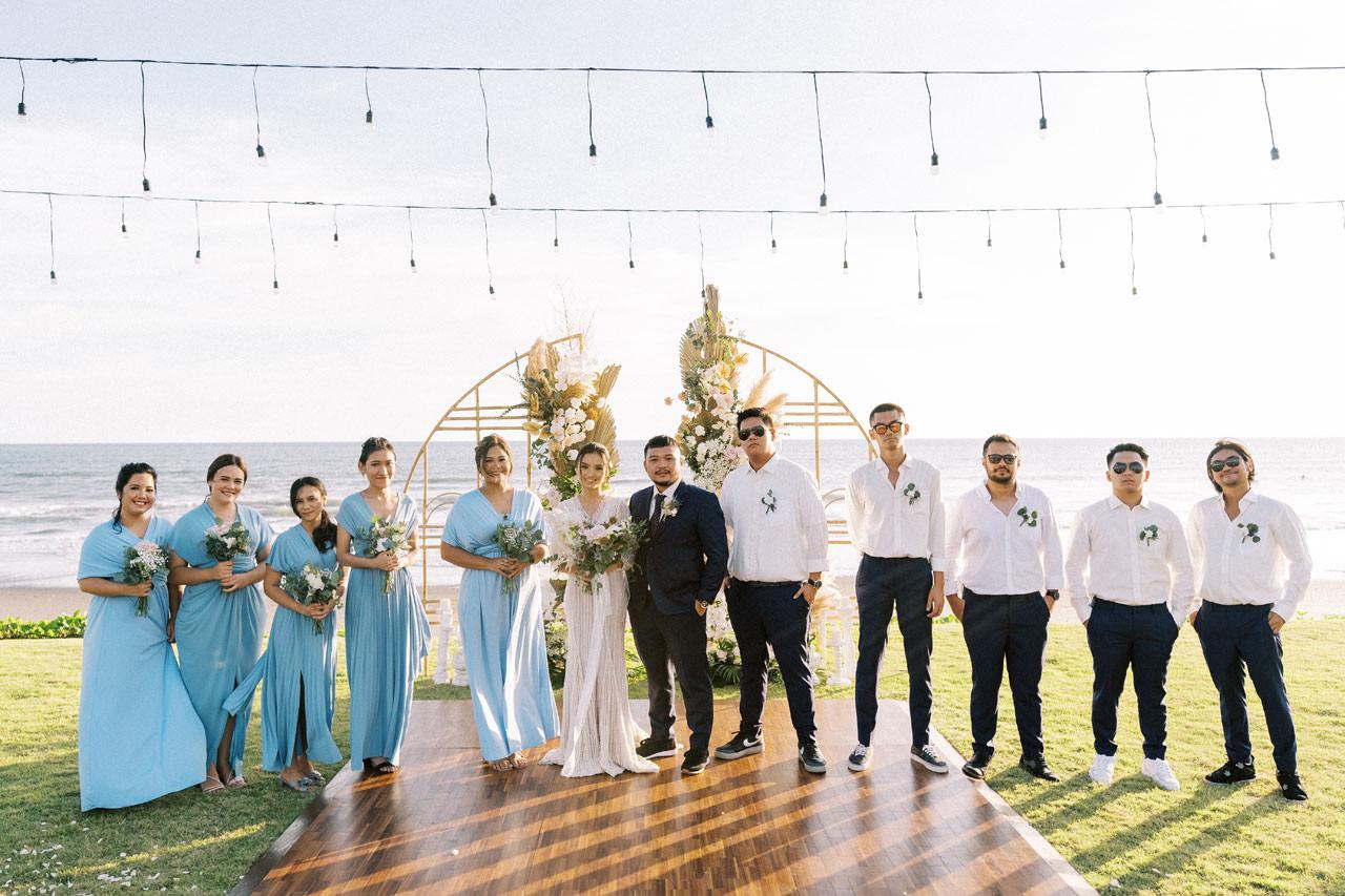 Bali Beach Glamping Wedding on a Luxury Tent 37