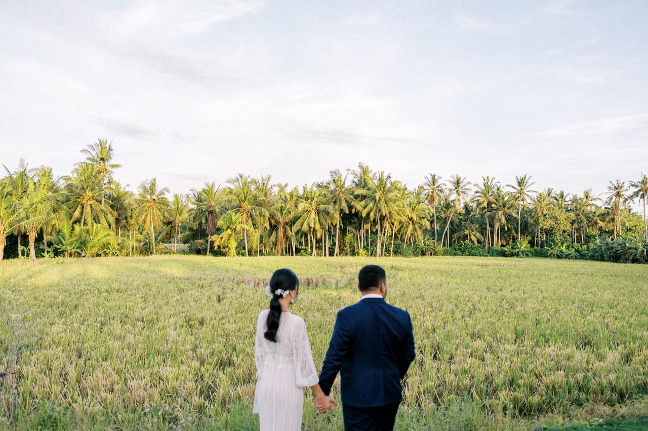 Bali Beach Glamping Wedding on a Luxury Tent 43