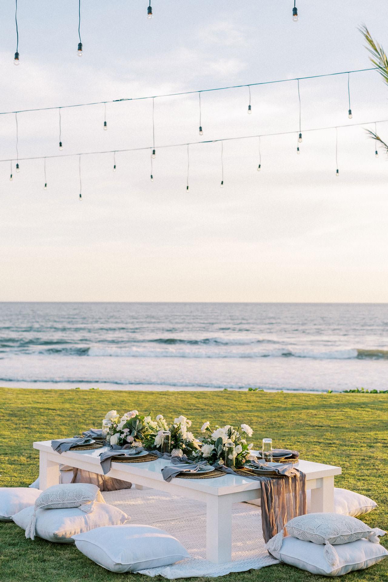 Bali Beach Glamping Wedding on a Luxury Tent 44