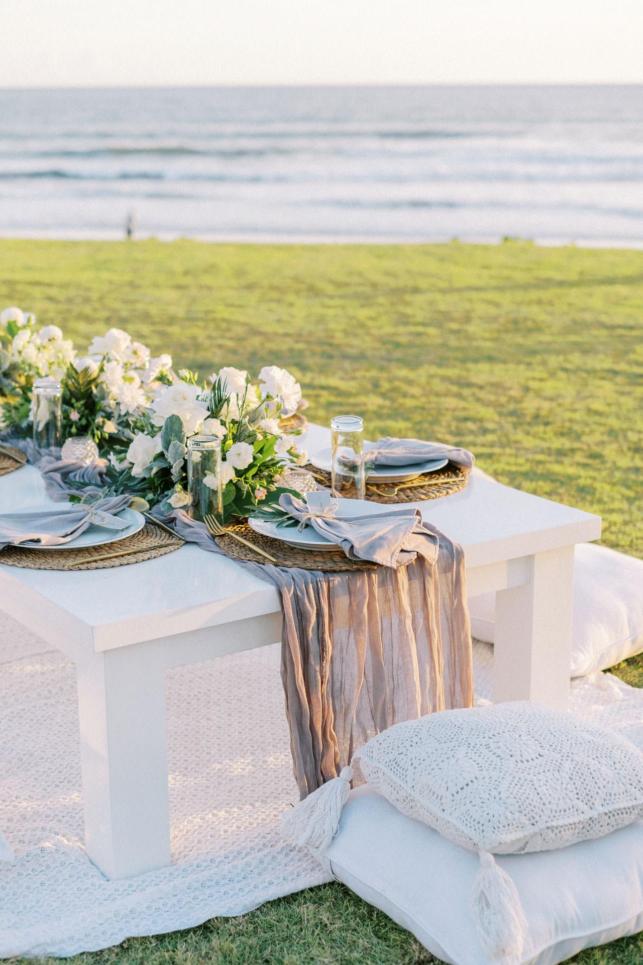 Bali Beach Glamping Wedding on a Luxury Tent 46