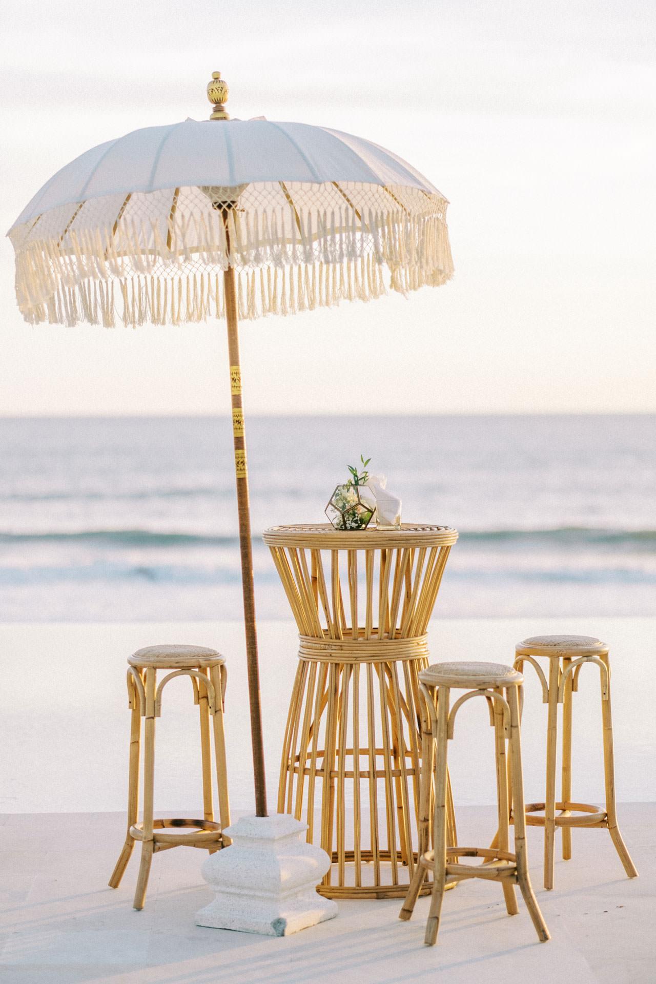 Bali Beach Glamping Wedding on a Luxury Tent 47
