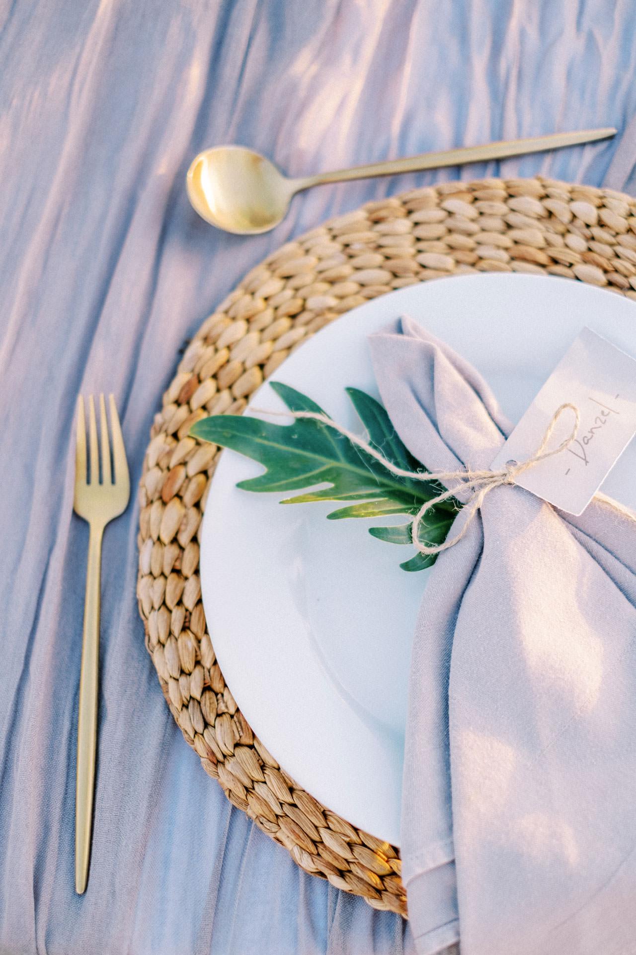 Bali Beach Glamping Wedding on a Luxury Tent 49