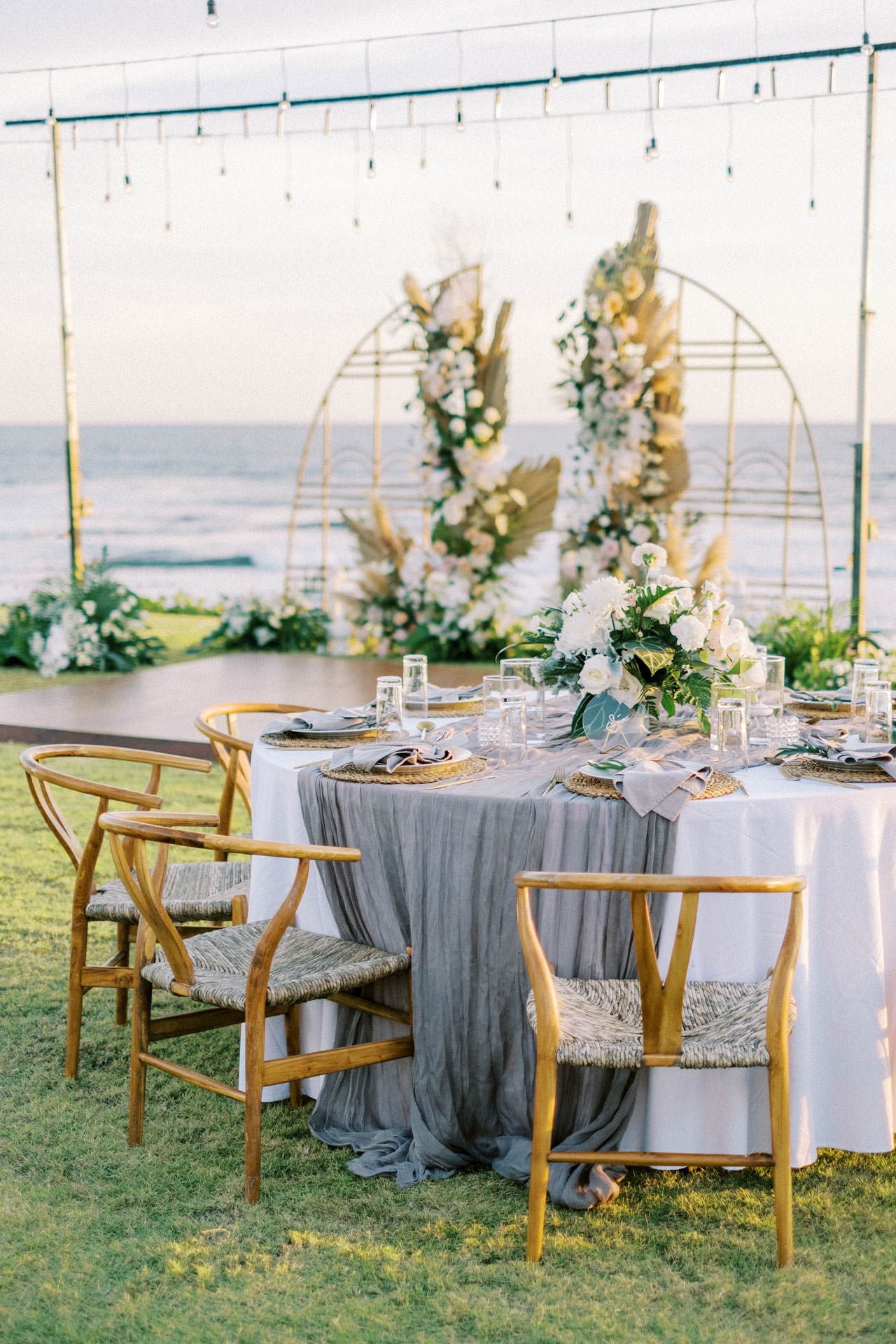 Bali Beach Glamping Wedding on a Luxury Tent 50