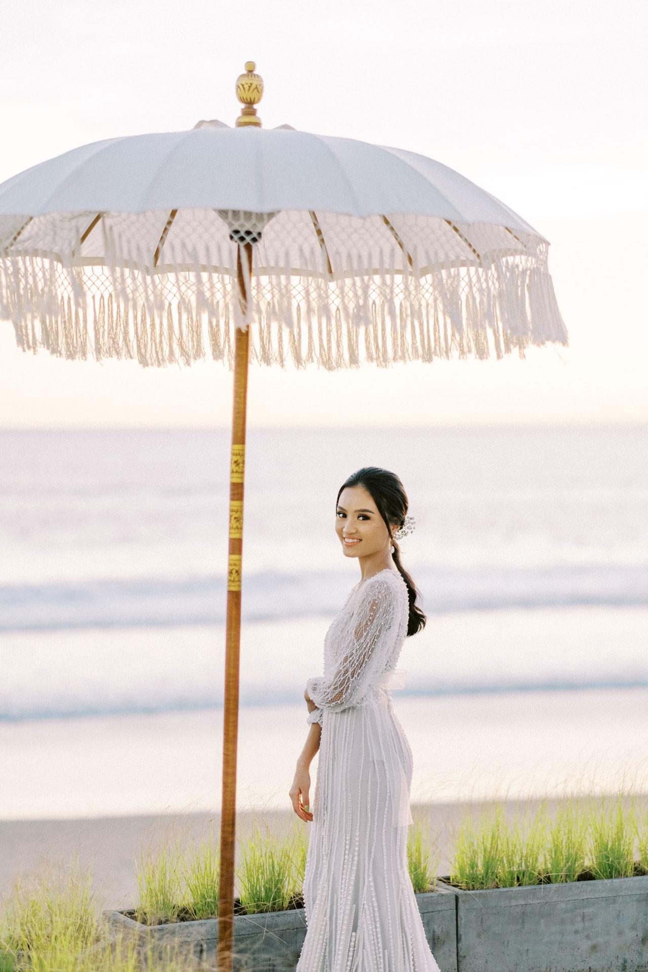 Bali Beach Glamping Wedding on a Luxury Tent 51