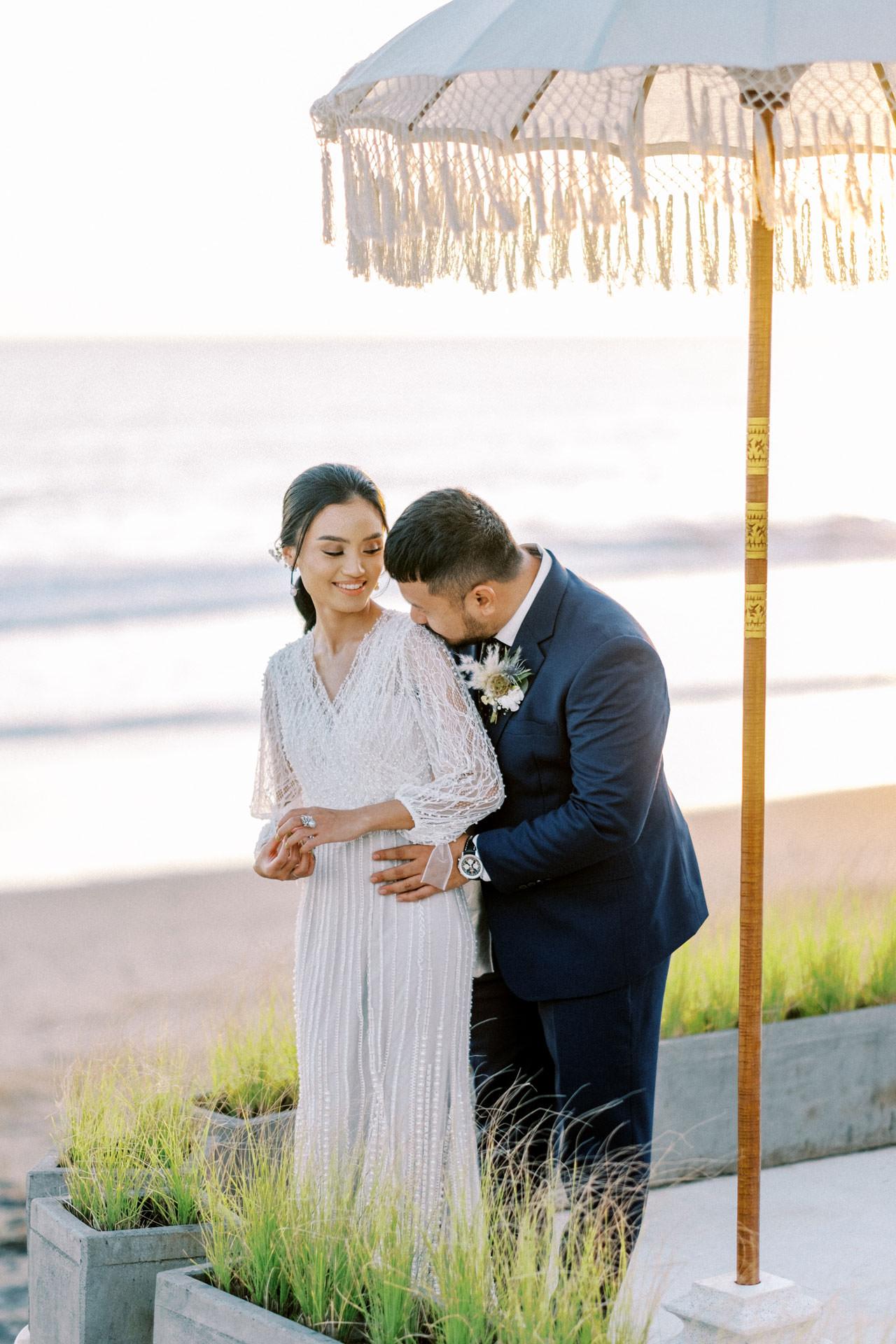 Bali Beach Glamping Wedding on a Luxury Tent 52