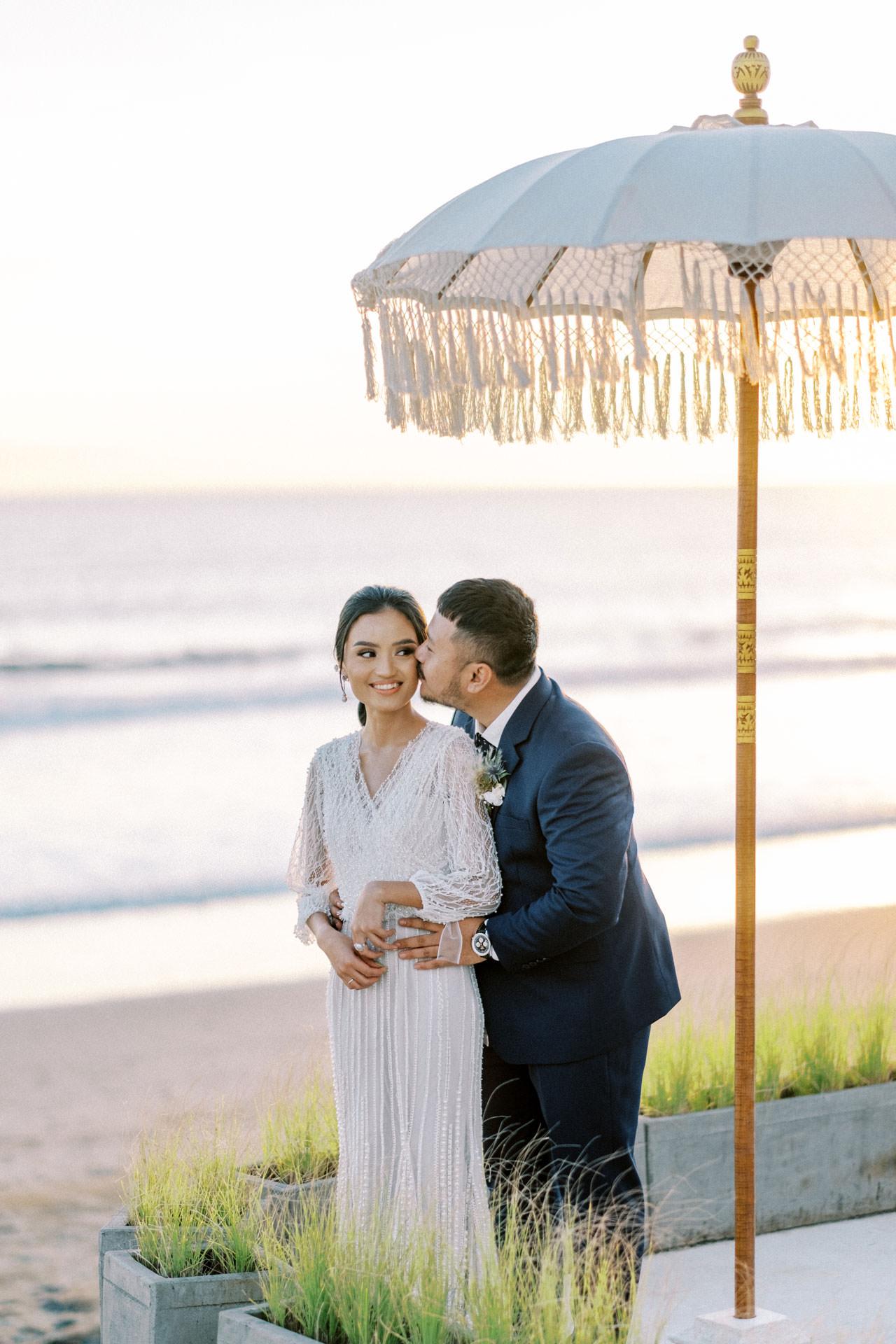Bali Beach Glamping Wedding on a Luxury Tent 53