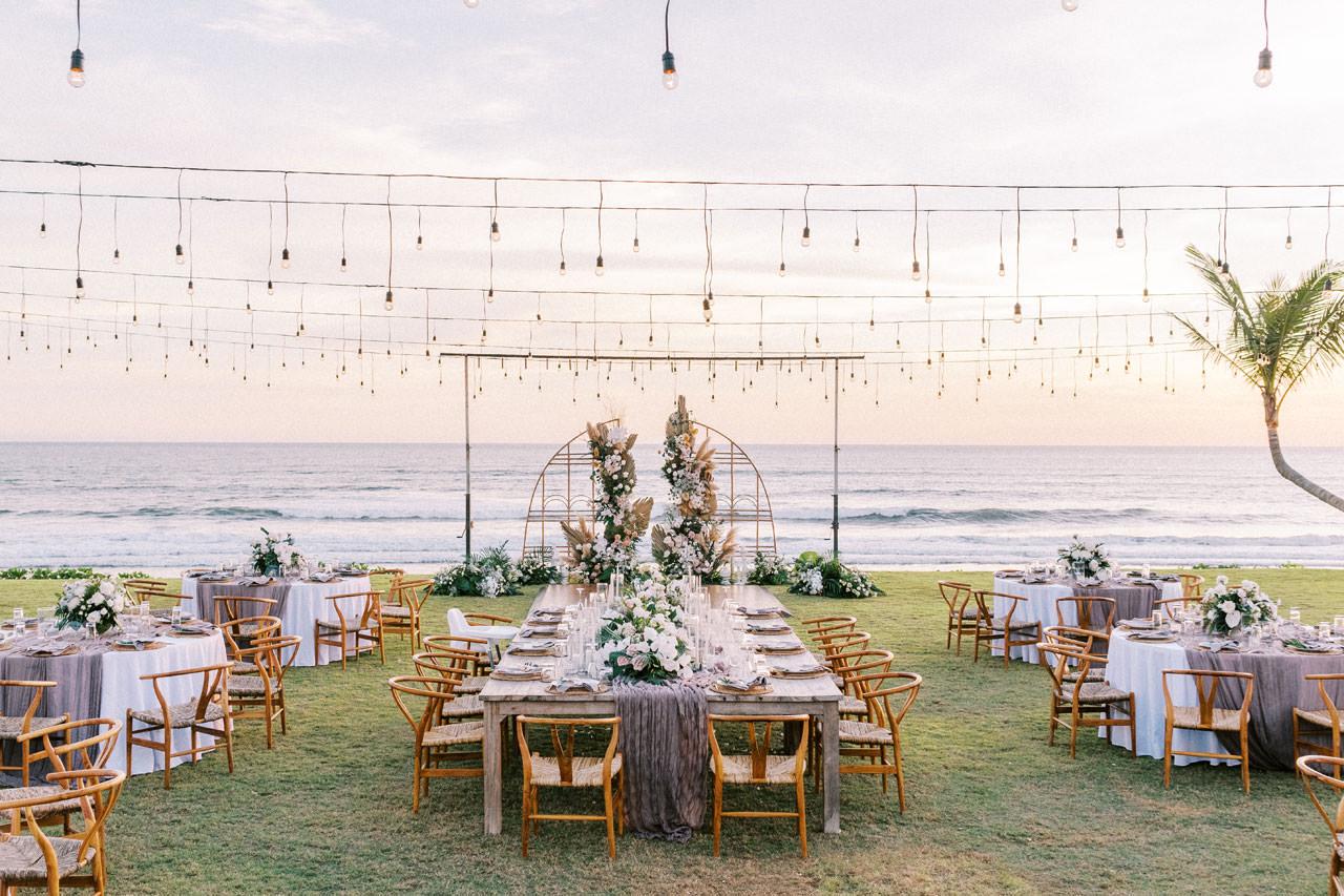 Bali Beach Glamping Wedding on a Luxury Tent 55