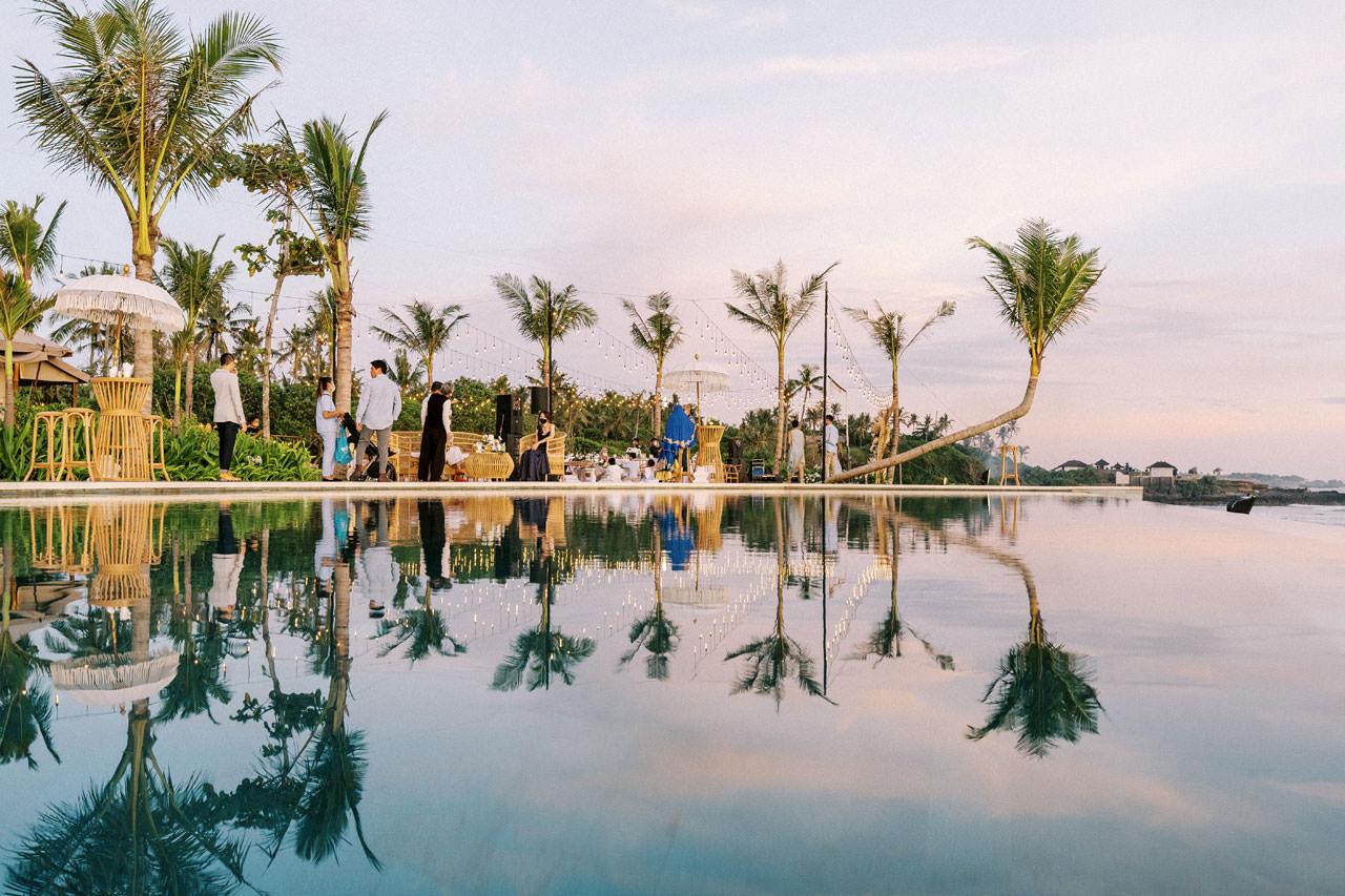 Bali Beach Glamping Wedding on a Luxury Tent 57