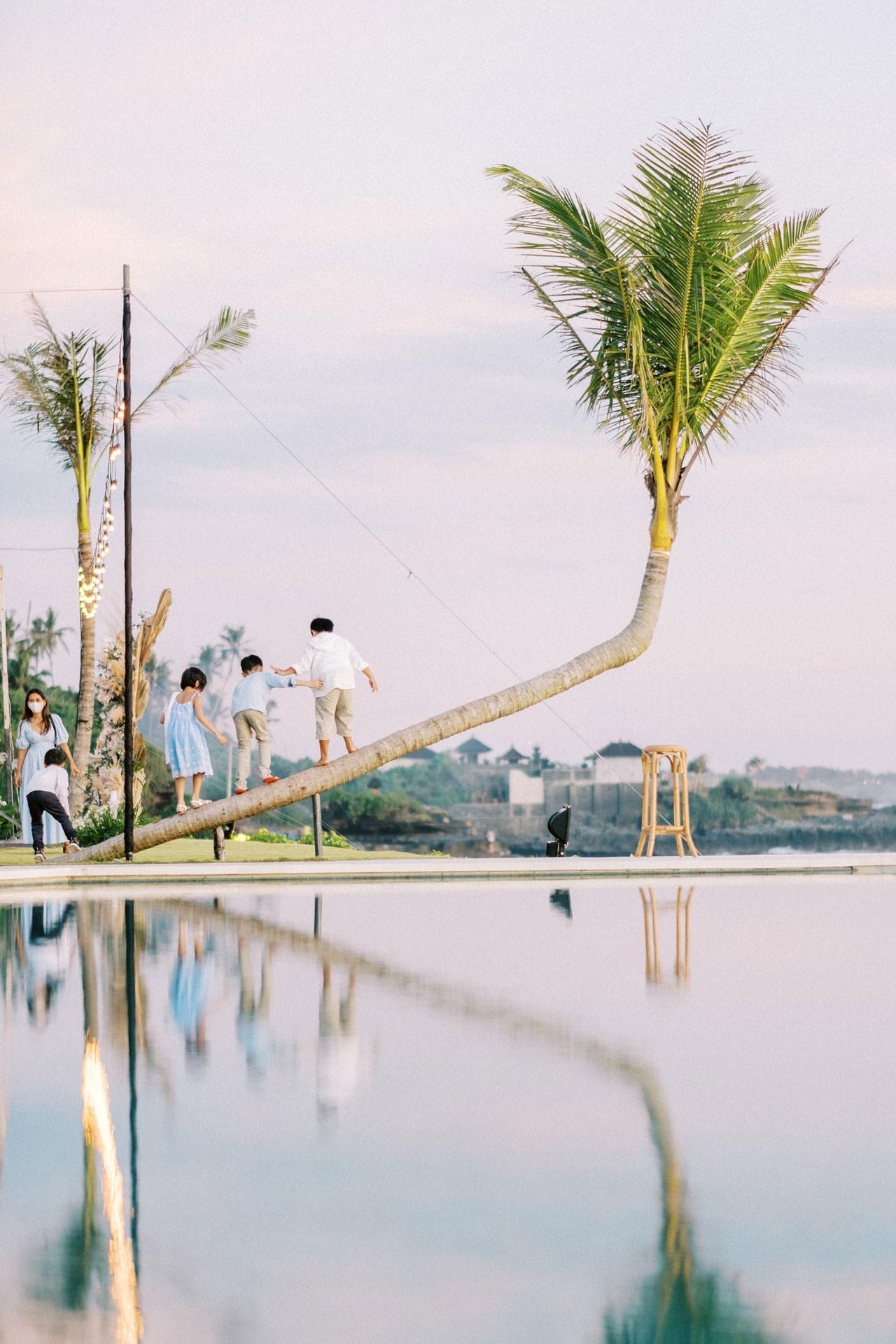 Bali Beach Glamping Wedding on a Luxury Tent 58