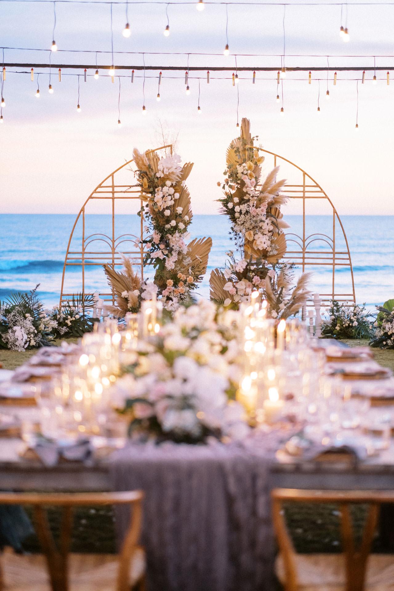 Bali Beach Glamping Wedding on a Luxury Tent 60