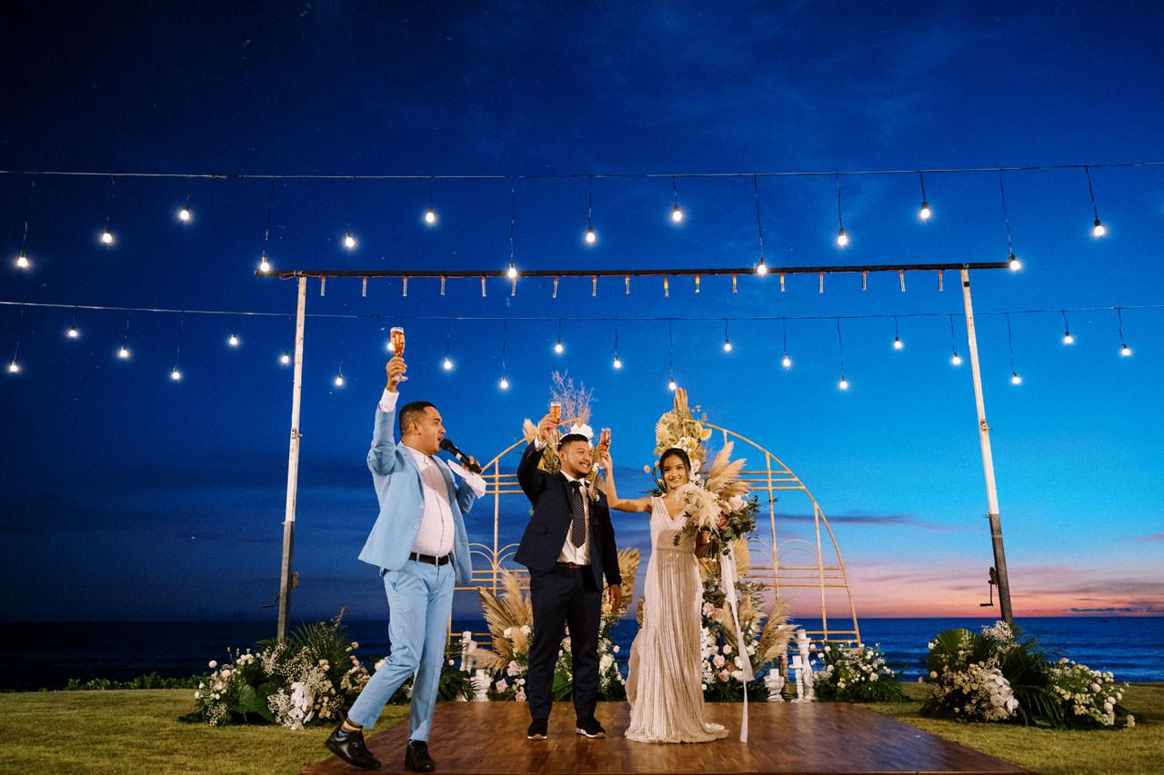 Bali Beach Glamping Wedding on a Luxury Tent 62