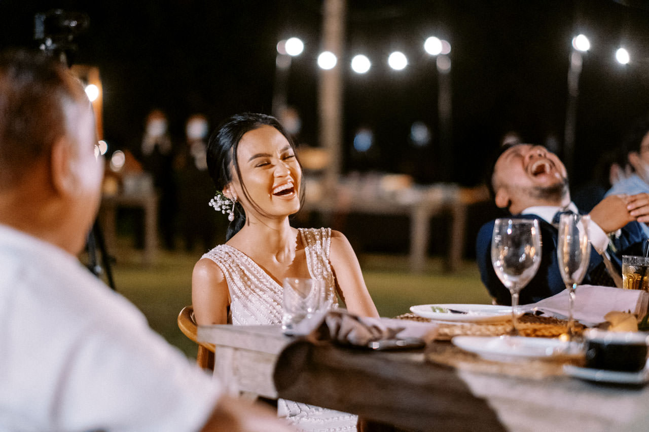 Bali Beach Glamping Wedding on a Luxury Tent 65