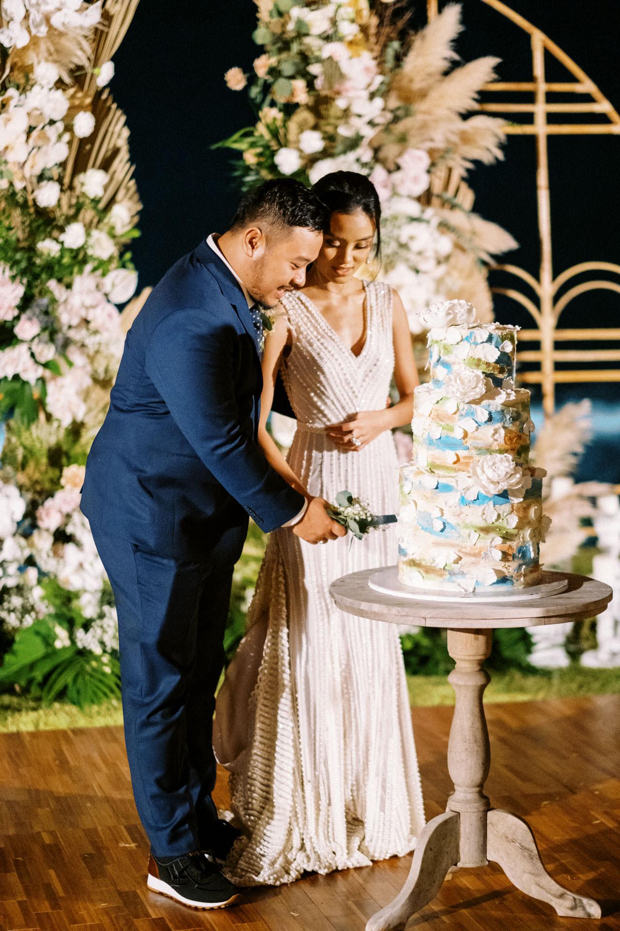 Bali Beach Glamping Wedding on a Luxury Tent 68
