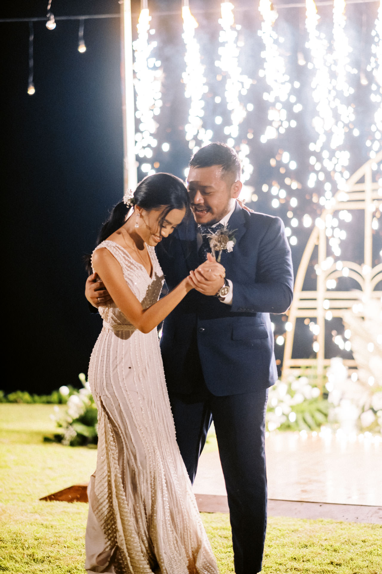 Bali Beach Glamping Wedding on a Luxury Tent 69
