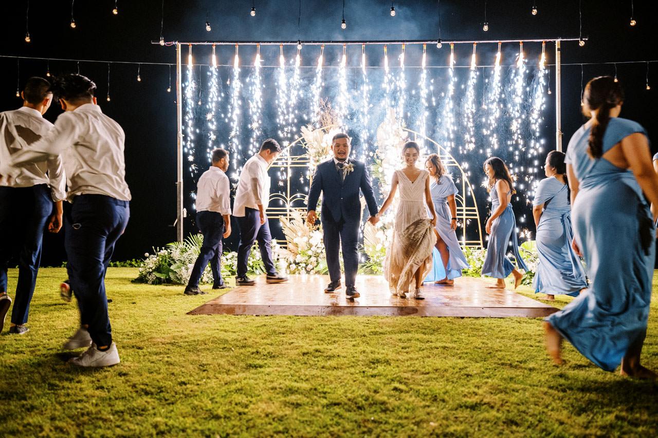 Bali Beach Glamping Wedding on a Luxury Tent 70