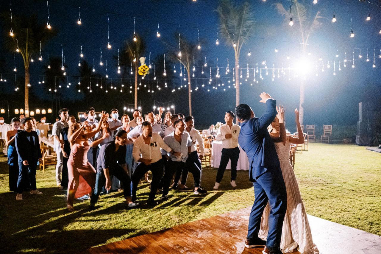 Bali Beach Glamping Wedding on a Luxury Tent 71
