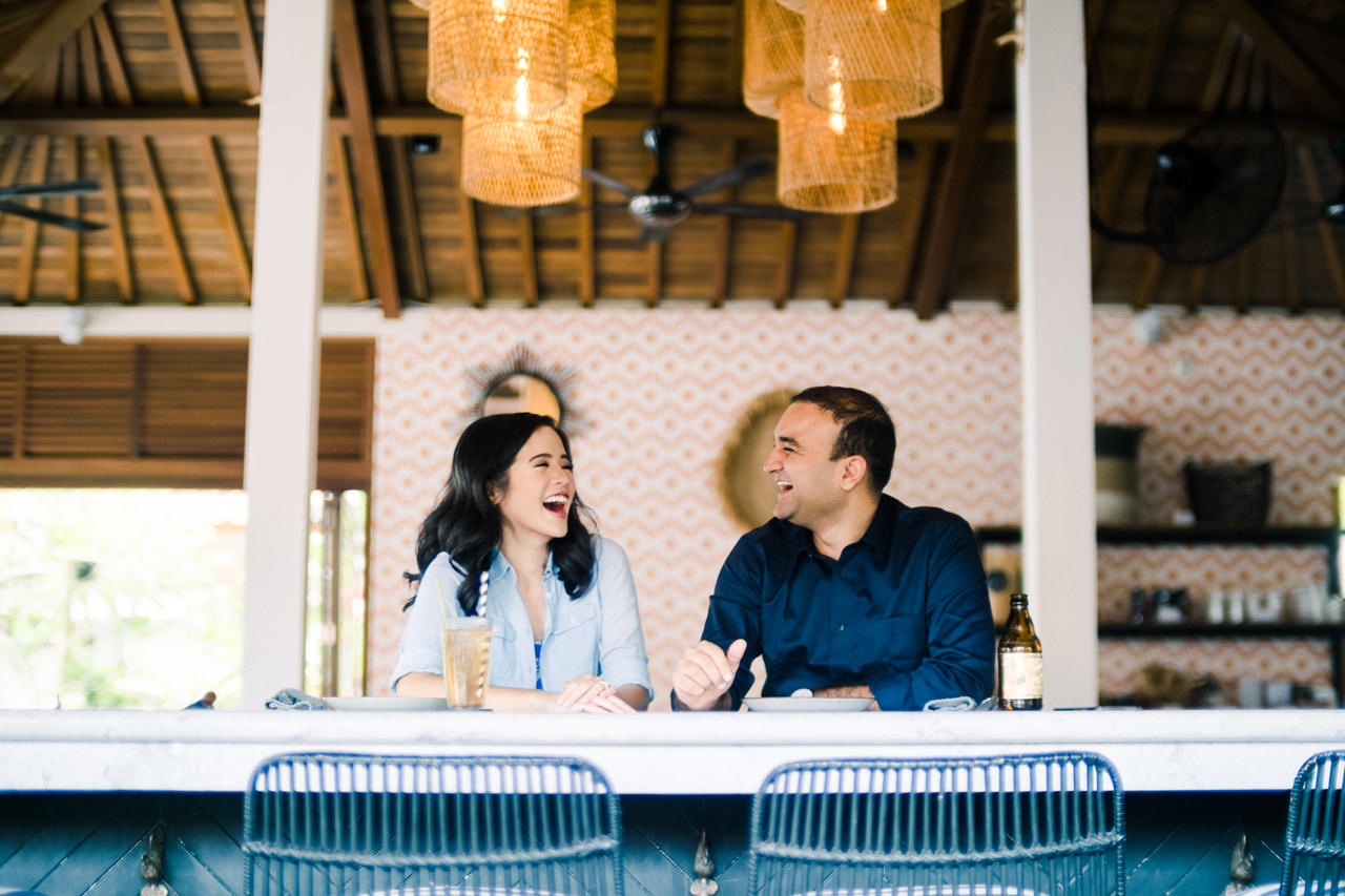 N&V: Fun Casual Engagement Session In Bali 2