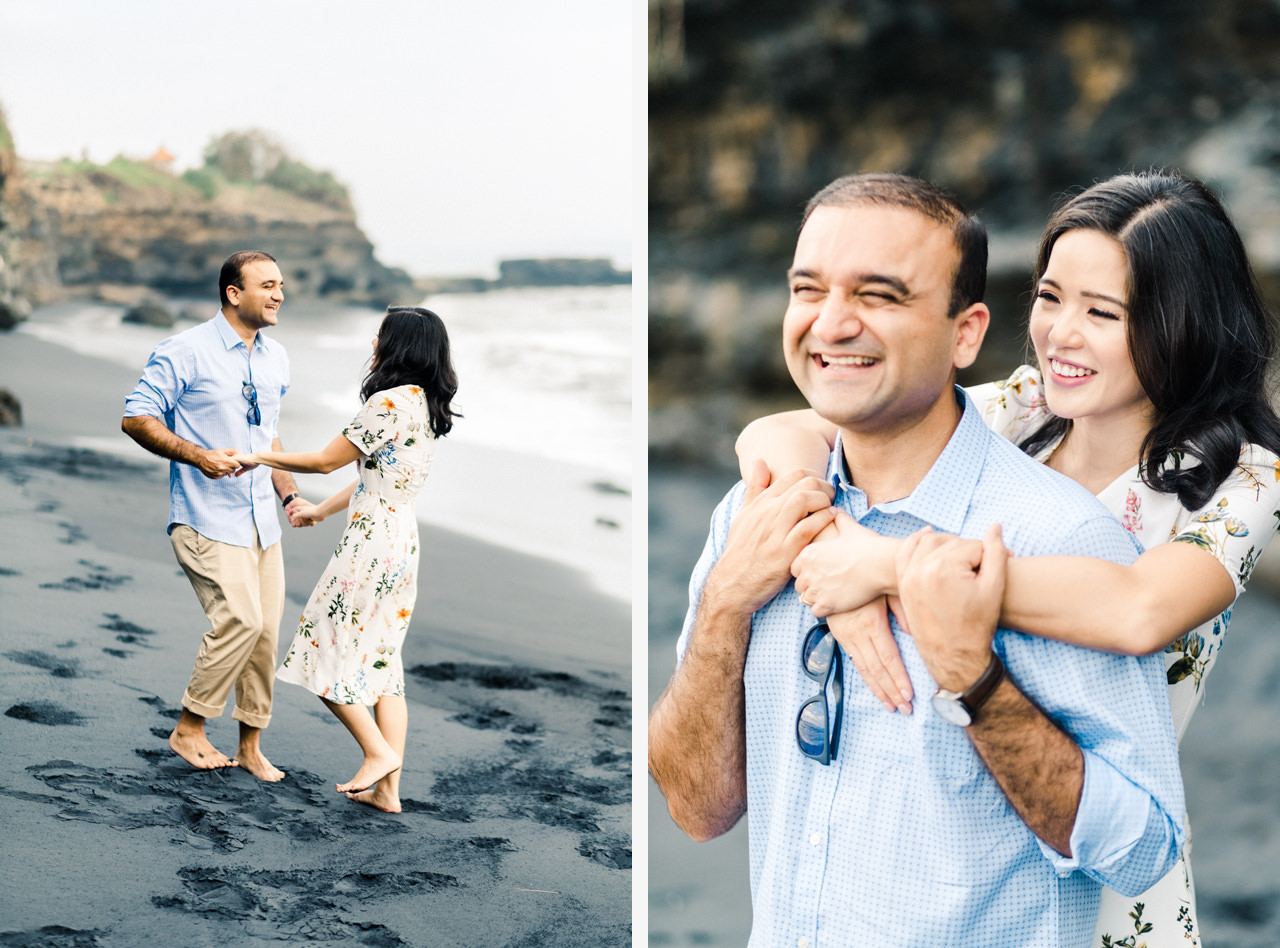 N&V: Fun Casual Engagement Session In Bali 5