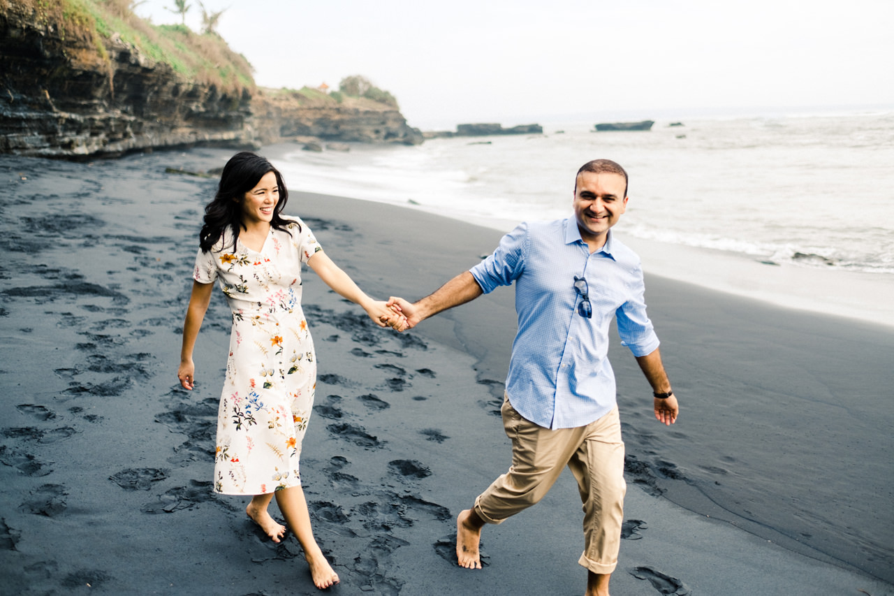 N&V: Fun Casual Engagement Session In Bali7