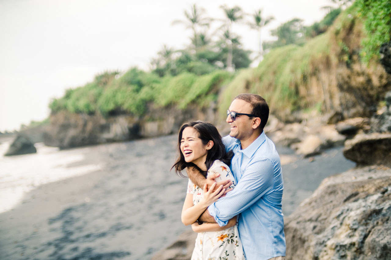N&V: Fun Casual Engagement Session In Bali 8