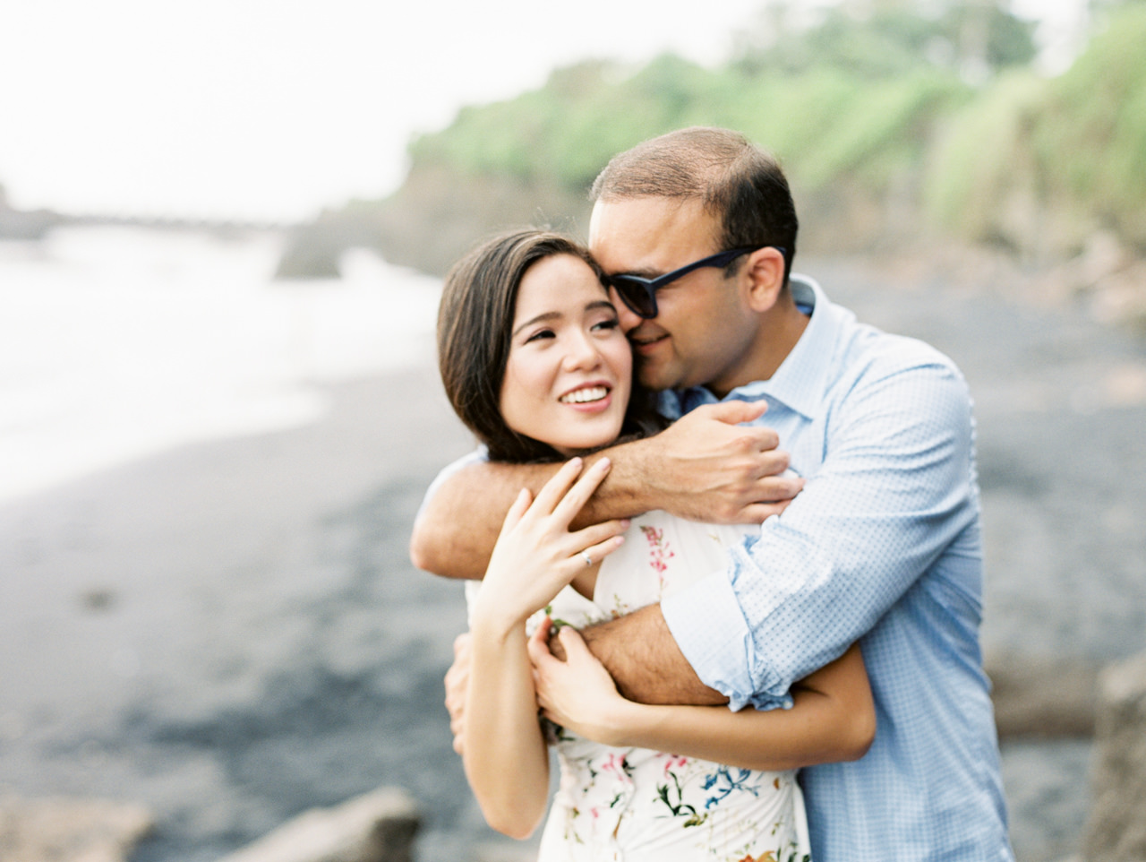 N&V: Fun Casual Engagement Session In Bali 10