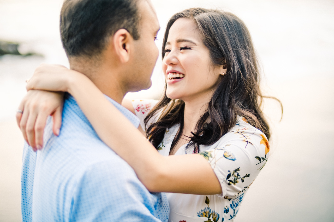 N&V: Fun Casual Engagement Session In Bali 12