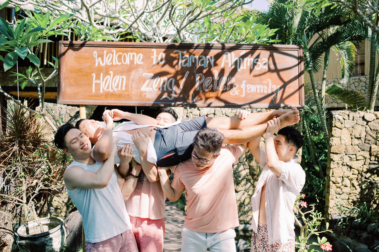 H&P: Light and Airy Bali Wedding Photography at Villa Taman Ahimsa 12