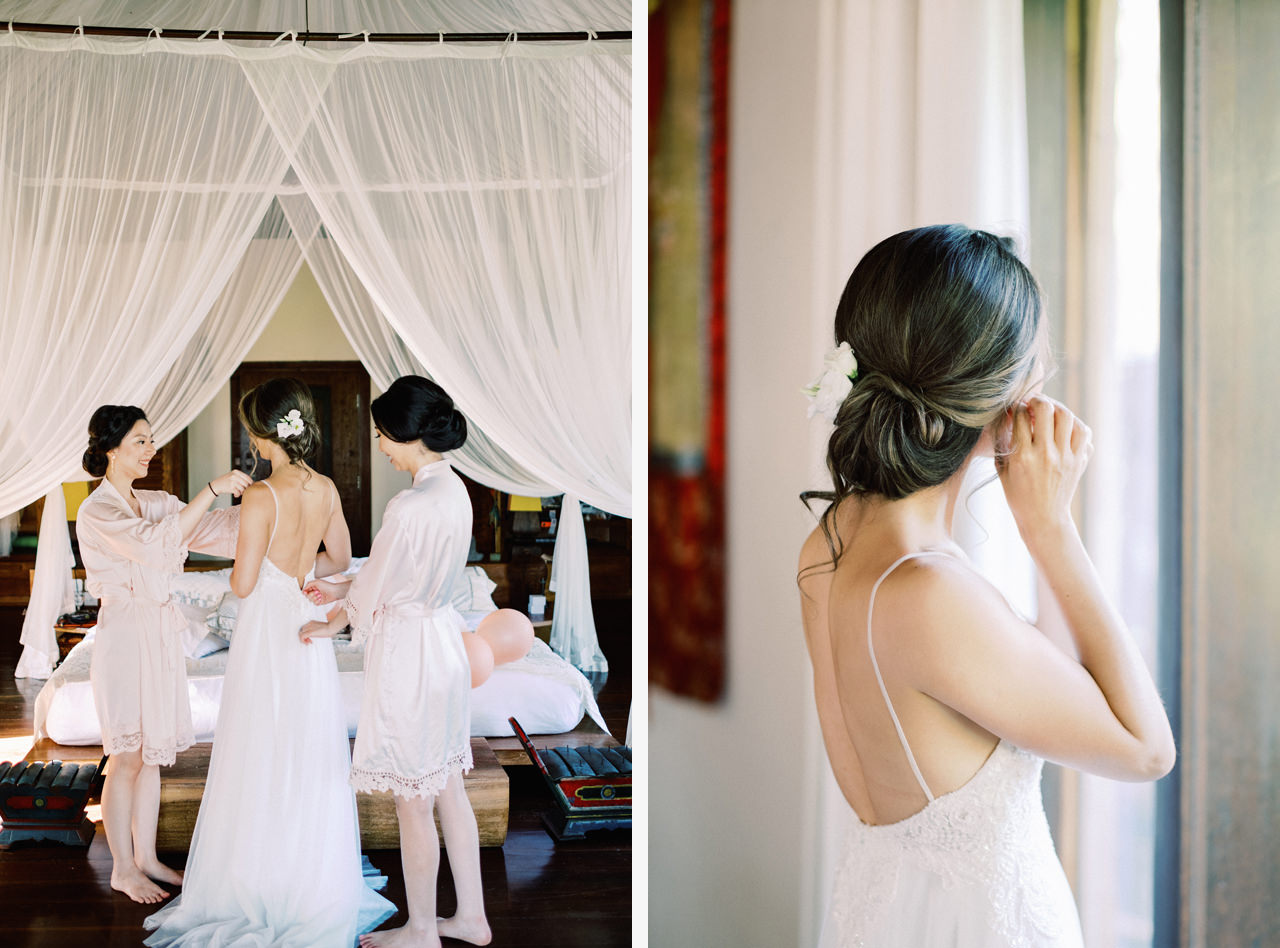 H&P: Light and Airy Bali Wedding Photography at Villa Taman Ahimsa 13