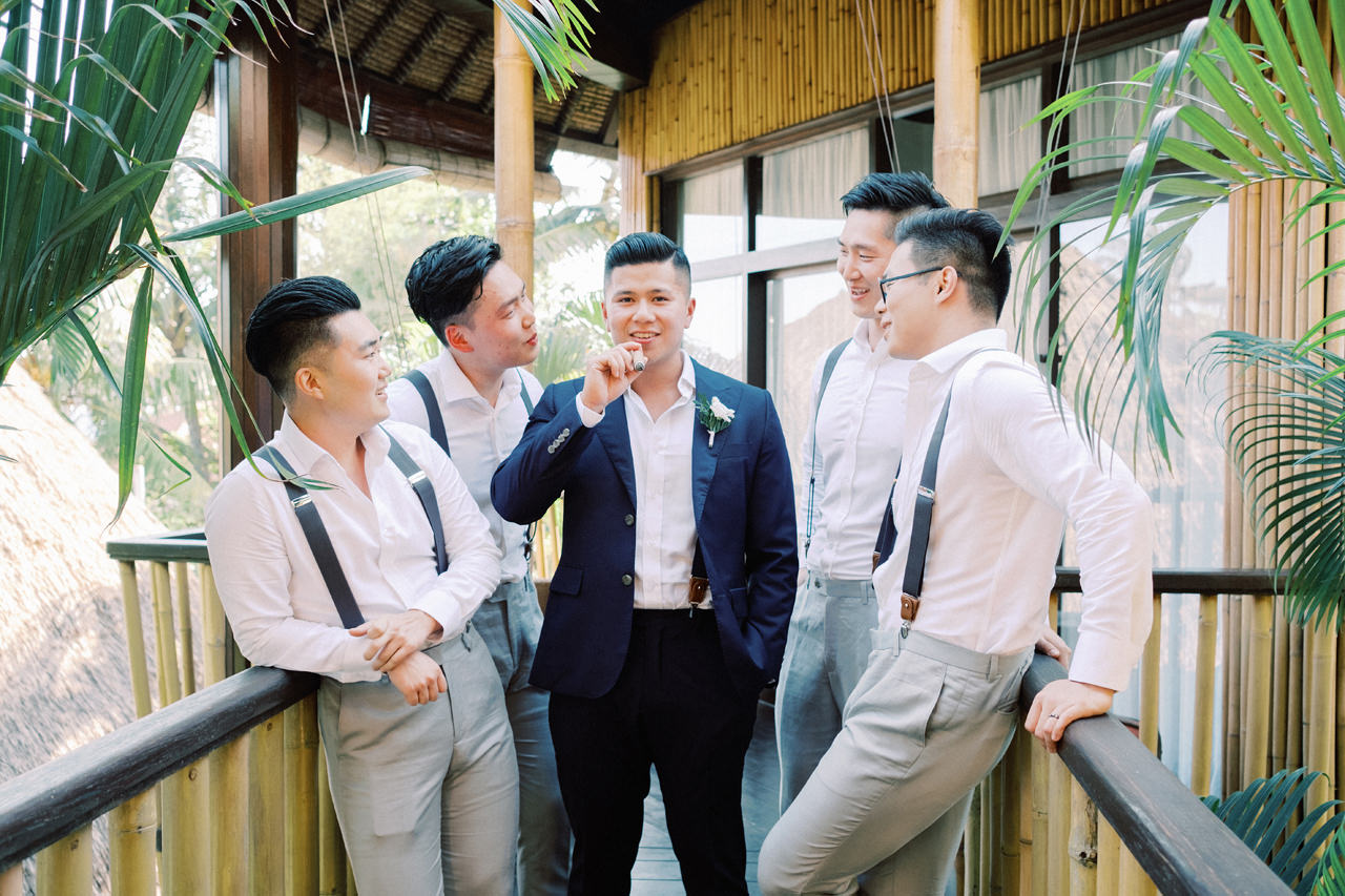 H&P: Light and Airy Bali Wedding Photography at Villa Taman Ahimsa 19