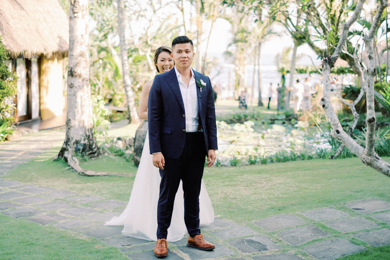 H&P: Light and Airy Bali Wedding Photography at Villa Taman Ahimsa 23
