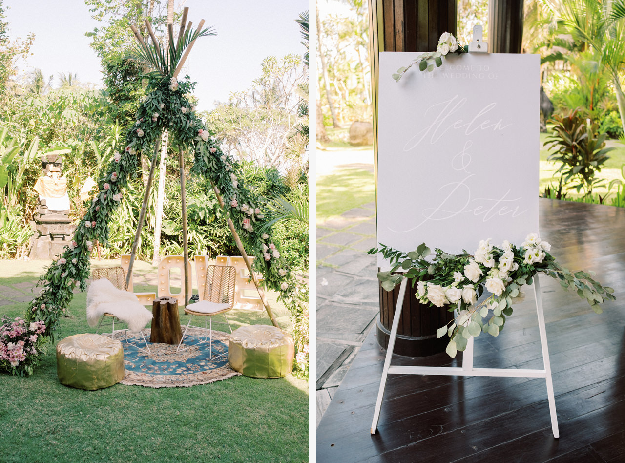 H&P: Light and Airy Bali Wedding Photography at Villa Taman Ahimsa 28