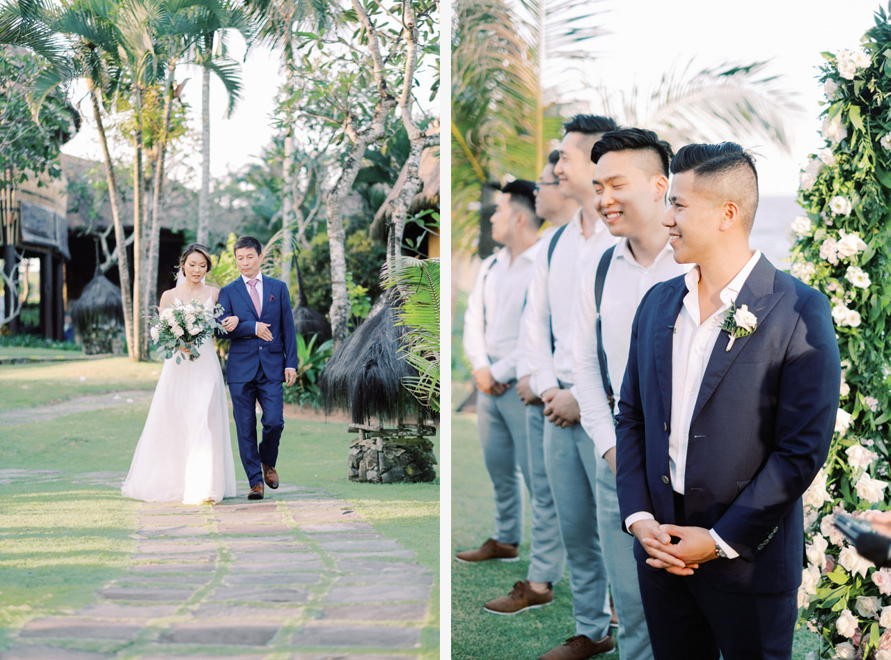 H&P: Light and Airy Bali Wedding Photography at Villa Taman Ahimsa 30
