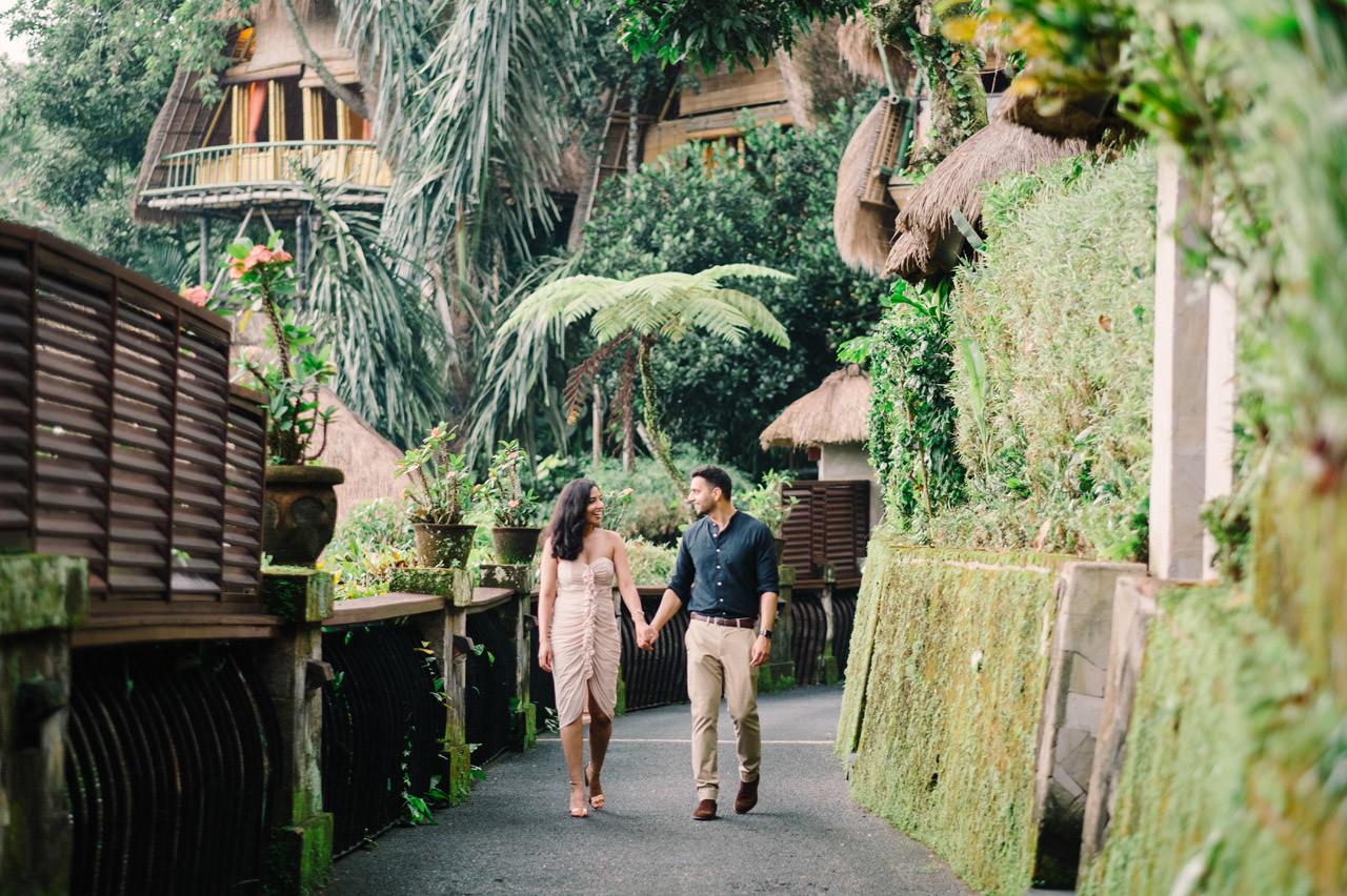 Parag and Mona: Ubud Surprise Proposal 1